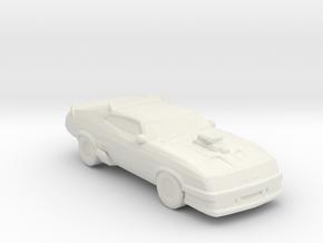 Interceptor Mad Max 1:160 Scale in White Natural Versatile Plastic