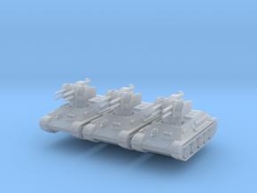 T-34 Flakpanzer (x3) 1/200 in Smoothest Fine Detail Plastic