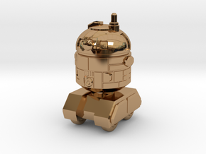 Astrobot 1 in Polished Brass