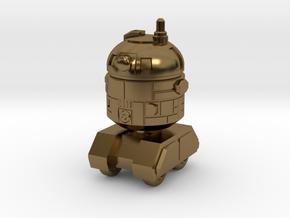 Astrobot 1 in Polished Bronze