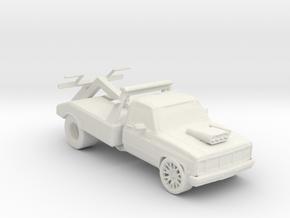 Dube Repo Wrecker 1:160 Scale in White Natural Versatile Plastic