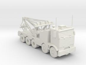 GMC Heavy Wrecker 1:160 scale in White Natural Versatile Plastic