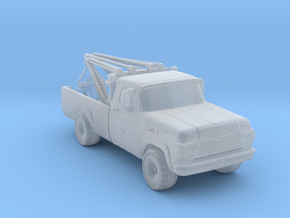 4x4 Wrecker 1:160 Scale in Smooth Fine Detail Plastic