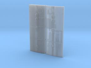SM RCS doors-3 in Smooth Fine Detail Plastic