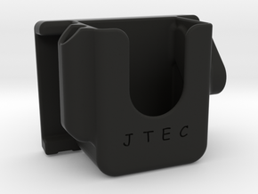 Headphone belt/waist clip in Black Natural Versatile Plastic