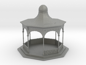 HO Scale Bandstand in Gray PA12