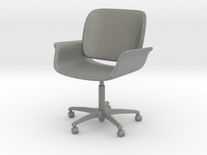 Chair 13. 1:24 Scale in Gray PA12