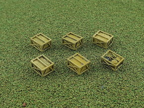 US SIXCON Fuel Container 1/285 6mm in Smooth Fine Detail Plastic