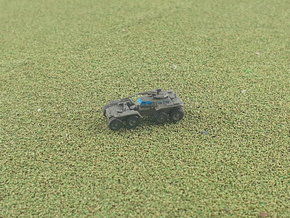 US XM808 Twister Scout Vehicle 1/285 6mm in Smooth Fine Detail Plastic