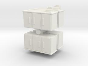 Shop Cash Counter (x4) 1/100 in White Natural Versatile Plastic