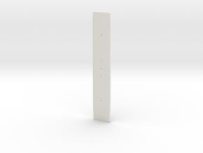 NS 1600 bodem TT in White Natural Versatile Plastic