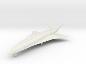 (1:144 What-if) Sanger Silbervogel Deltaflugel in White Natural Versatile Plastic