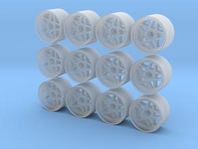 Leon Hardiritt Reise rims for Hot Wheels in Smooth Fine Detail Plastic
