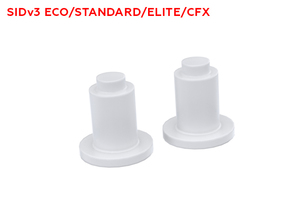 SID V3 transparent LED switches plungers in Smooth Fine Detail Plastic