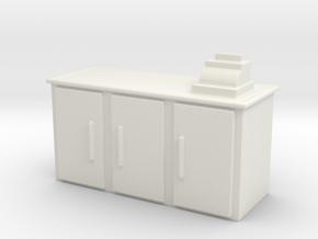 Shop Cash Counter 1/56 in White Natural Versatile Plastic