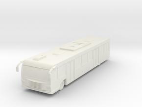 Airport Bus 1/76 in White Natural Versatile Plastic