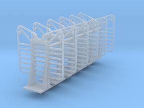1/64th Logging headache Rack 7 bar builders pack in Smooth Fine Detail Plastic