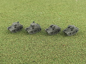 M1 & M2 Combat Cars / Light Tank 1/285 6mm in Smooth Fine Detail Plastic