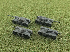 EBR 75 Heavy Scout Car 1/285 6mm in Smooth Fine Detail Plastic