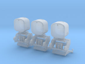 JD 8R FRONT LINKAGE 3 PACK in Smooth Fine Detail Plastic