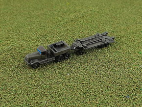 M19 Tank Transporter w. Soft Top 1/285 6mm in Smooth Fine Detail Plastic