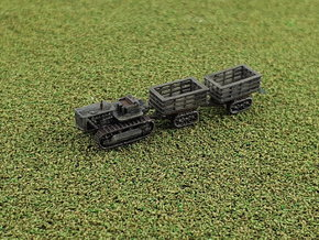 Caterpillar D8 w. Athey BT898 Trailers 1/285 in Smooth Fine Detail Plastic