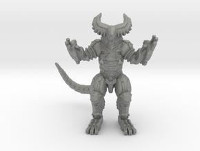 Cyber Gomora monster 59mm kaiju miniature game rpg in Gray PA12