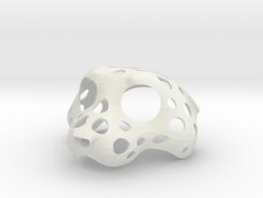 Puppethead15 in White Natural Versatile Plastic