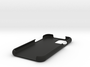 iPhone 11 Pro Case *Customizable* in Black Natural Versatile Plastic