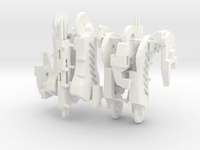 Workroid Legs in White Processed Versatile Plastic