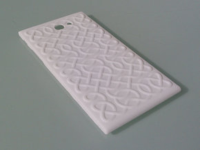The Other Side Celtic Knots for Jolla phone in White Processed Versatile Plastic