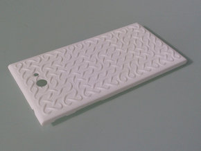 The Other Side Fine Celtic Knot for Jolla phone in White Strong & Flexible Polished
