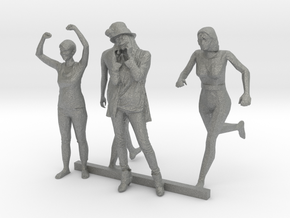 S Scale Standing Women 2 in Gray PA12
