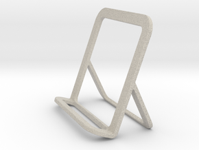 Cell Phone Smart Phone Stand Holder Android Iphone in Natural Sandstone