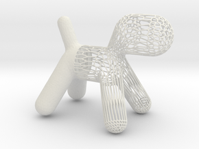 Magis Puppy Inspiration Abstract and Adorable Pupp in White Natural Versatile Plastic
