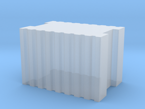 Brick 7.2x4.9x4.9 mm in Smooth Fine Detail Plastic