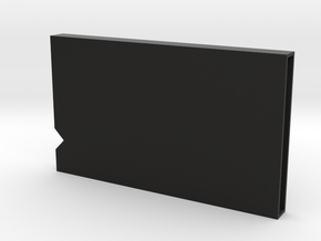Mask storage box in Black Natural Versatile Plastic: Small