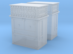 Carnival Ticket Booth (x2) 1/160 in Smooth Fine Detail Plastic