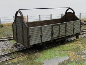 00n3 General Wagon Body in Smooth Fine Detail Plastic
