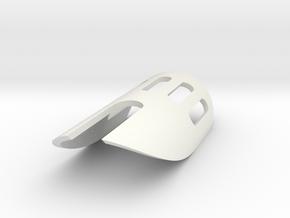 Vanquish saber shroud in White Natural Versatile Plastic