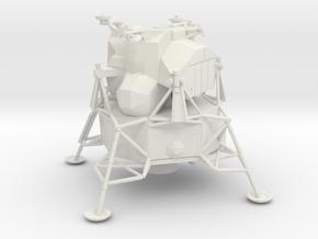 053C Lunar Module 1/144 in White Natural Versatile Plastic