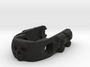 Skulls - Emek/Etha2 Pops ASA Bonnet Cap  in Black Natural Versatile Plastic