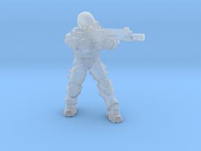 Talon Trooper Rifle 1/60 miniature games scifi rpg in Smooth Fine Detail Plastic
