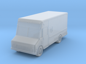 UPS Delivery Van 1/200 in Smooth Fine Detail Plastic