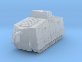 A7V German tank WW1 in Smoothest Fine Detail Plastic: 1:220 - Z