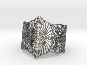 LONO Cuff in Polished Silver
