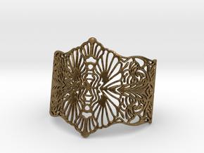 LONO Cuff in Natural Bronze
