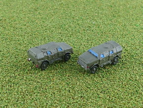 German ATF Dingo II Armored Car 1/285 6mm in Smooth Fine Detail Plastic