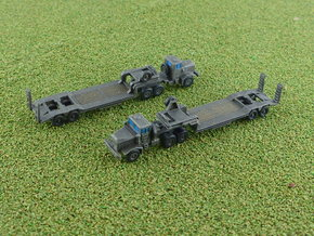 Faun 908 SA / SAT Tank Transporter 1/285 6mm in Smooth Fine Detail Plastic
