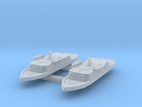 1/1250 Guerriera Floating Battery x2 in Smooth Fine Detail Plastic
